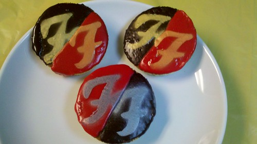Red Hot & Rockin' Foos Cookies! | by thenkv