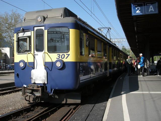 Berner Oberland Bahn Interlaken Ost 2011