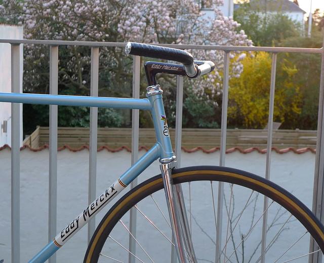 Merckx Pista - Metallic Blue/Priests