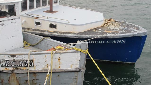 Wellfleet fishing boats