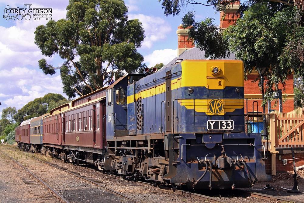 Y133 - Victorian Goldfields railway by Corey Gibson