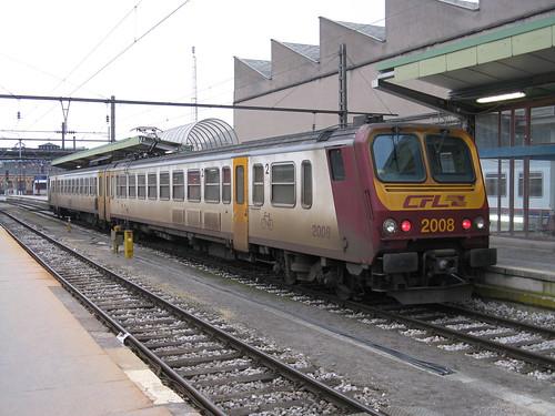 CFL Class 2000 EMU no. 2008, Luxembourg   by bindonlane
