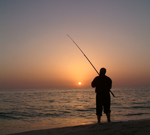 beach sunrise fisherman d100