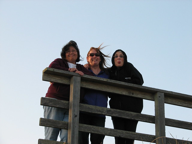 Loretta, Roxanne, and Judie