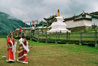 Tibetan monastery at Yak Meadow | by Gerrigje Engelen