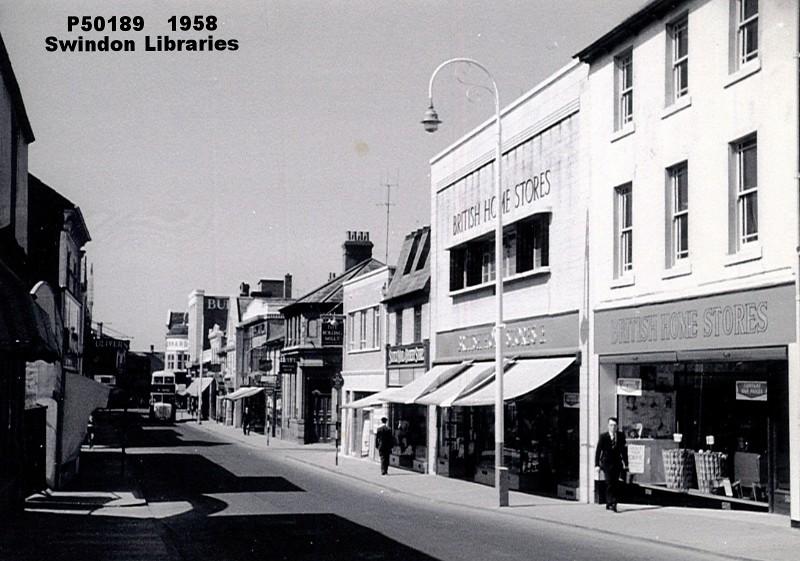 Bridge Street Stores >> 1958 British Home Stores On Bridge Street Swindon Flickr