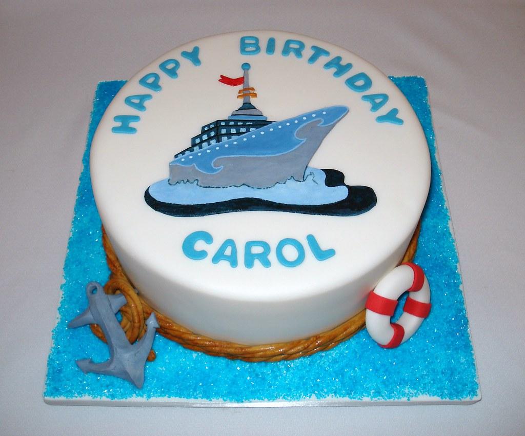 Miraculous Cruise Ship Birthday Cake Flour Creations Flickr Funny Birthday Cards Online Inifofree Goldxyz