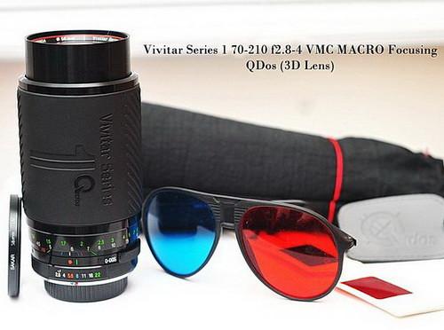 Manual lens - Vivitar series 1 3D lens QDOS (Nikon mount