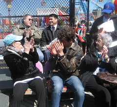 Applauding the Blessing of the Rides