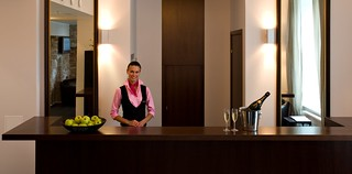 Hotel reception - von Stackelberg Hotel Tallinn | by Unique Hotels Group