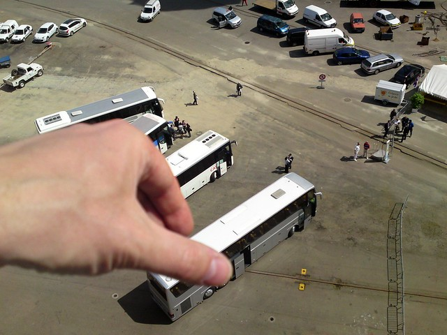 Arranging The (Real) Buses & Coaches