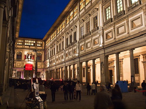 The Uffizi Gallery during White Night Festival | by kevinpoh