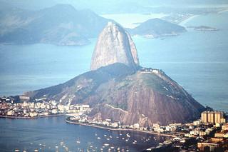 Rio de Janeiro - Sugar Loaf from Corcovado