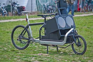bike sound system | Portable and powerful  Mauerpark  Berlin