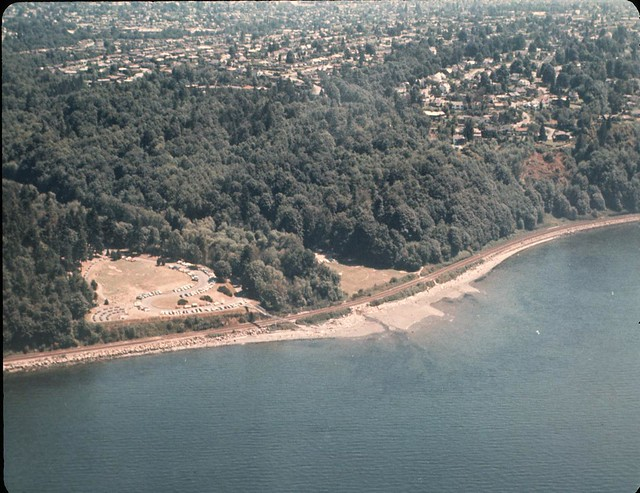 Aerial of Carkeek Park, 1969