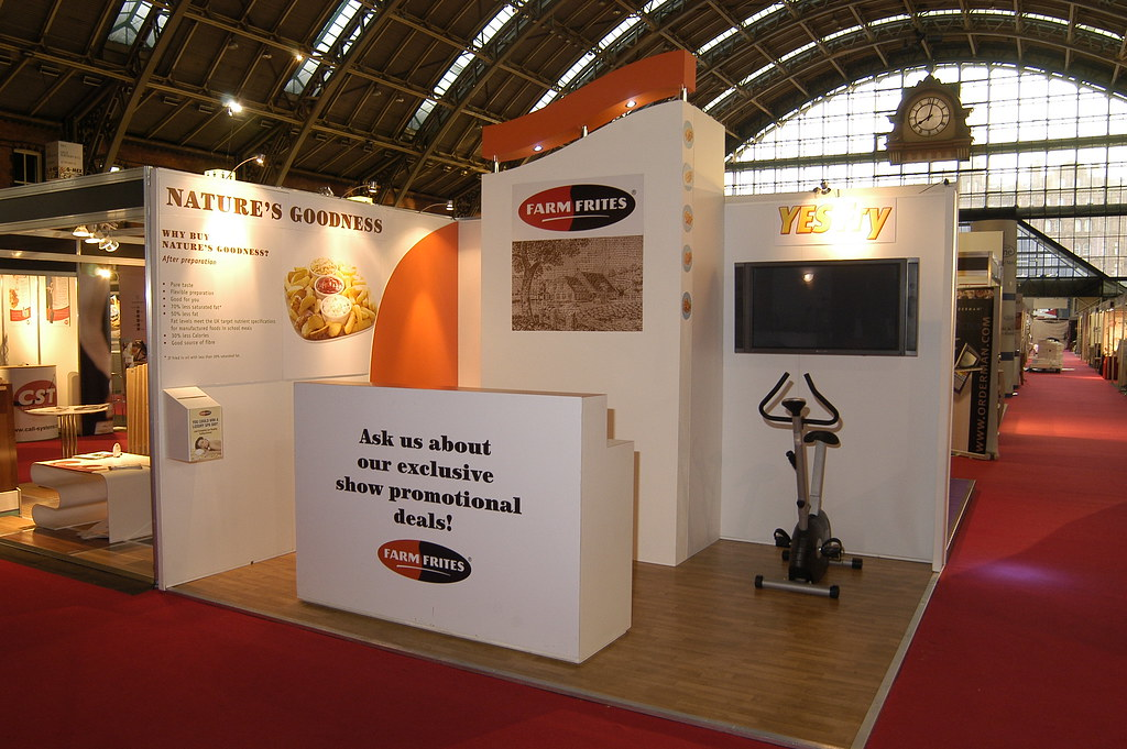 Exhibition Stand Nature : Farm frites bespoke exhibition display stand custom exhibiu flickr