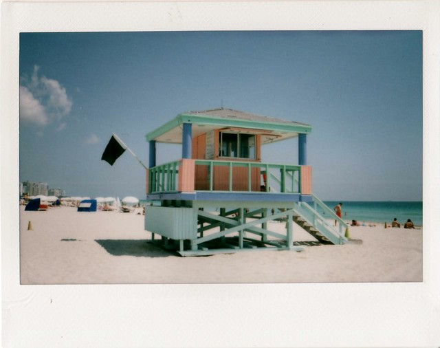 Lifeguard Hut On South Beach