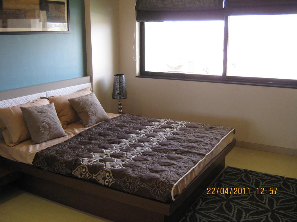 Bedroom In The Sample Flat Of Park Springs 2 Bhk 3 Bhk Flickr