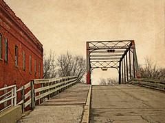 Washington Street bridge and wooden walkway