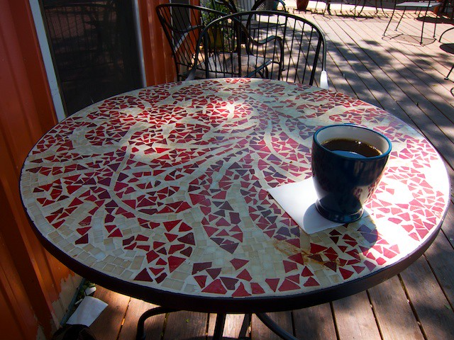 Astonishing Coffee On A Table At Cherrywood Coffeehouse Colin Ncnpc Chair Design For Home Ncnpcorg