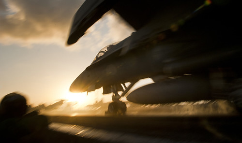 Hornet launches from USS Carl Vinson. | by Official U.S. Navy Imagery