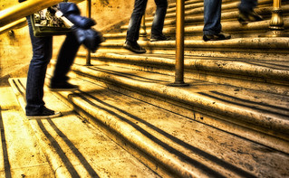 worn steps in Union Station. Chicago, IL | by Chris Richards1