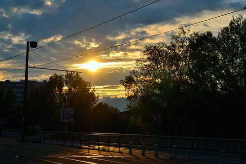 urban clouds grenoble sunrise soleil nuages lever