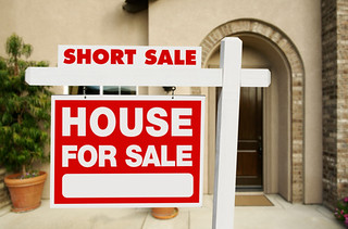 Short Sale Real Estate Sign and House | by Quantum Realtors