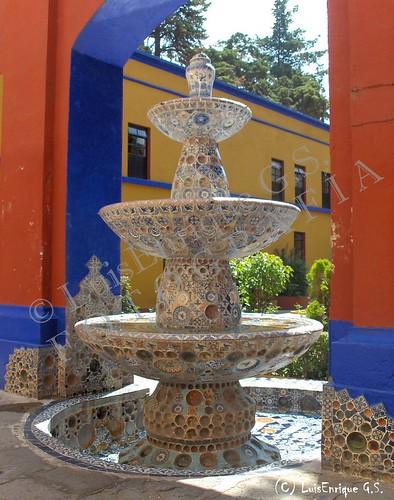 Fuente de las Tres Teresas - Ex-Hacienda Chautla - Puebla - México