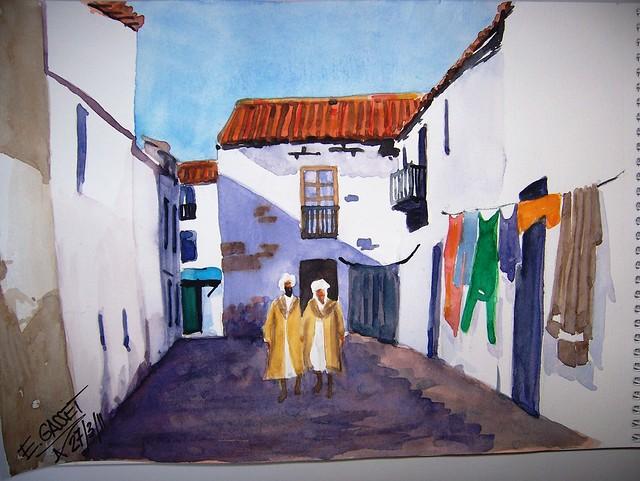 Calle de Marruecos - 1921.