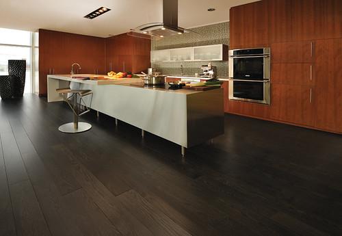 Red Oak Graphite [kitchen] | by Mirage floors