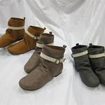Alvina靴(駱駝色,褐灰色,灰色)