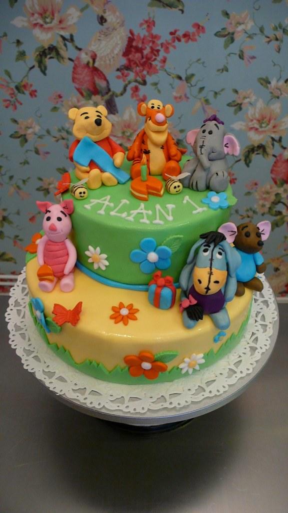 Terrific Winnie The Pooh Birthday Cake Cakeamsterdam Com Flickr Funny Birthday Cards Online Necthendildamsfinfo