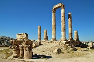 Temple of Hercules, Amman Citadel, Amman, Jordan