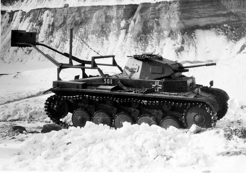 Ladungsleger II, инженер vehicle based Pz.Kpfw.I