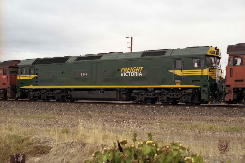 Freight Victoria G540 by David Arnold