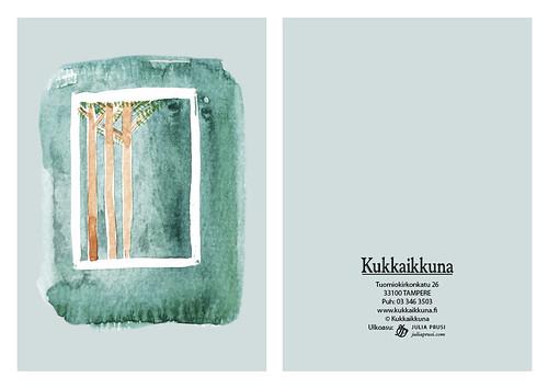Pakettikortti, extra, Männikkö | by Julia & Perttu Prusi