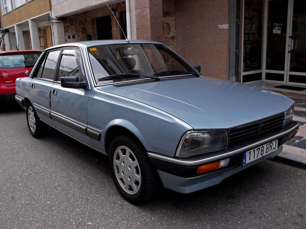 1990 Peugeot 505 Gti Fiattipoelite Flickr