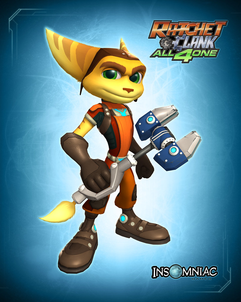 Ratchet Clank All 4 One Redesigning Ratchet Get Your S Flickr