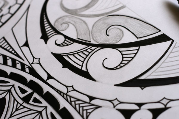 How To Draw A Maori Tattoo Design Mark Storm Flickr,Landscaping Business Landscape Logo Design