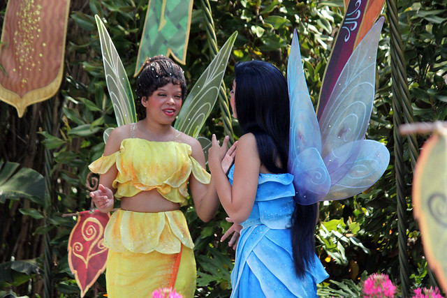 The Fairies greet Guests in their new home... in Future World