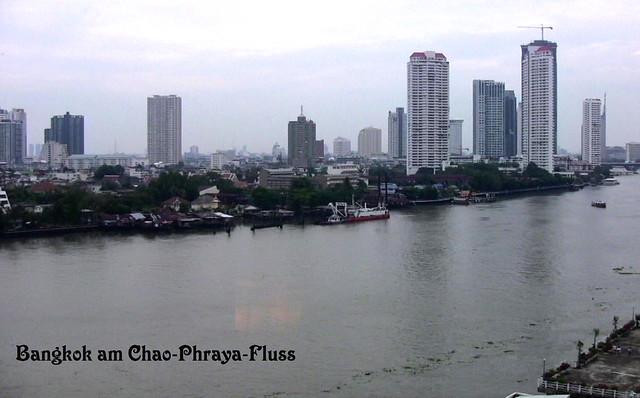 THAILAND-Bangkok, am Chao Phraya  - 3