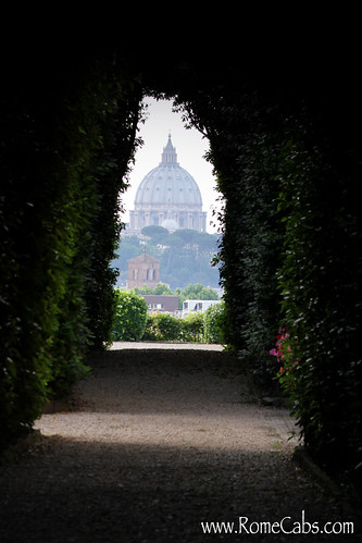 Key Hole on Aventine Hill, Rome