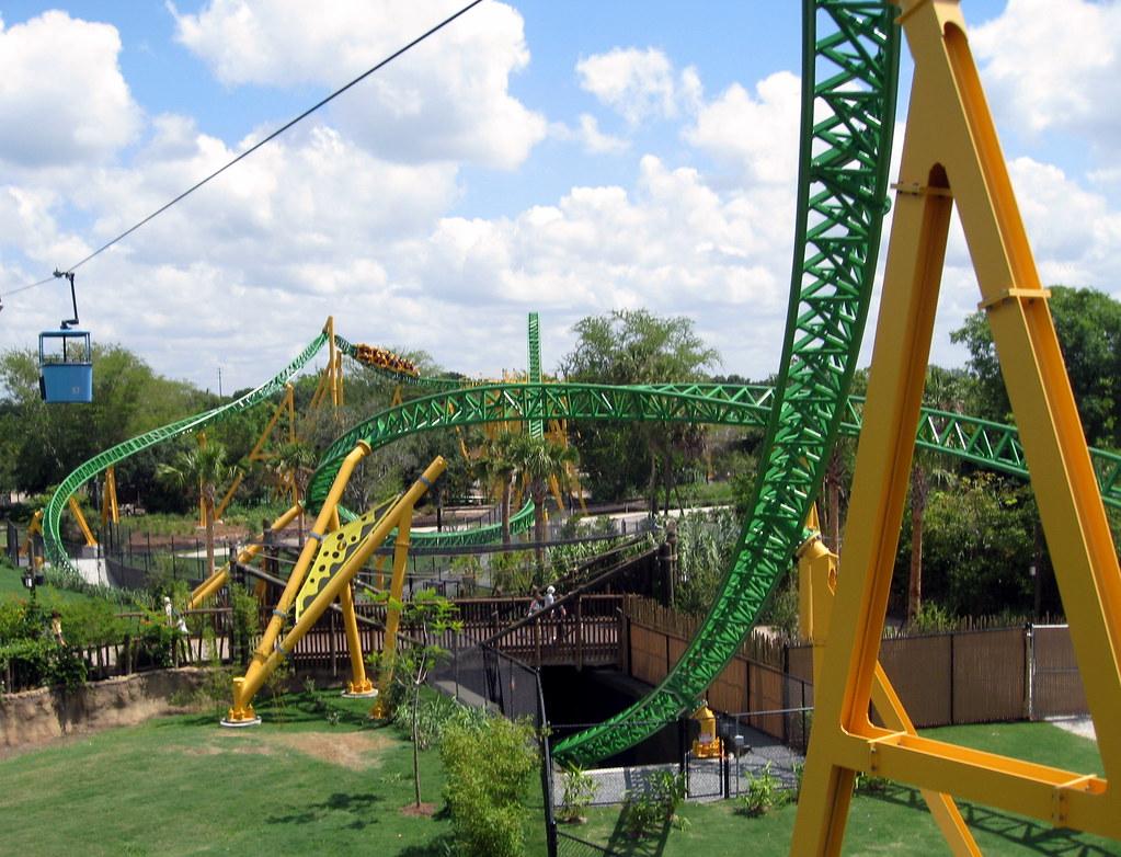 Busch Gardens   Skyride   View Of Cheetah Hunt (3) | Flickr