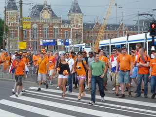 Celebrating the World Cup Finals in Amsterdam   by JMParrone