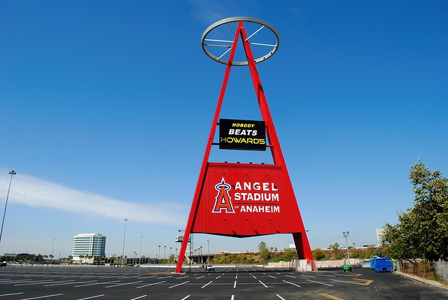 A for Anaheim & Angels