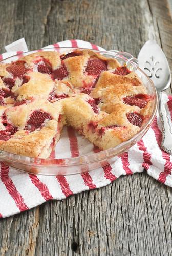 Summer Strawberry Cake | by Jordana Lea
