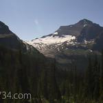 Kintla Peak and Agassiz Glacier