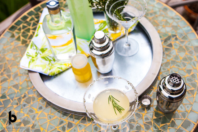 Rosemary Lemon Drop