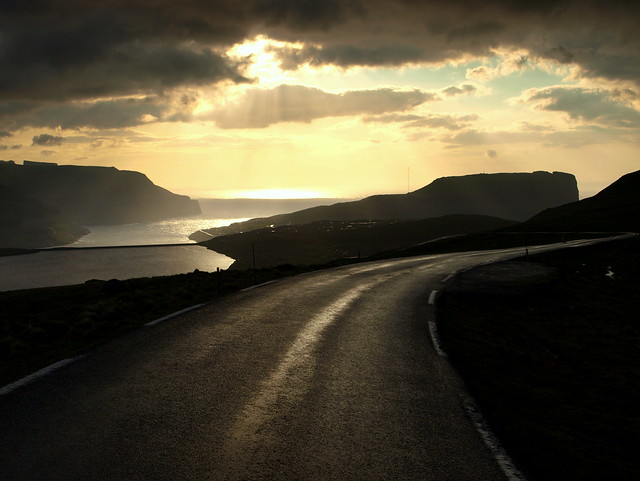 The road to Eiði